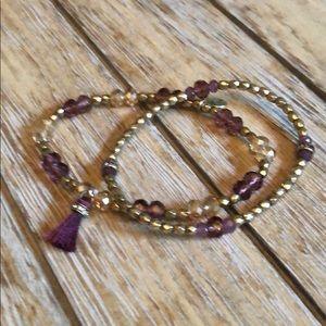 Chloe + Isabel beaded bracelet set
